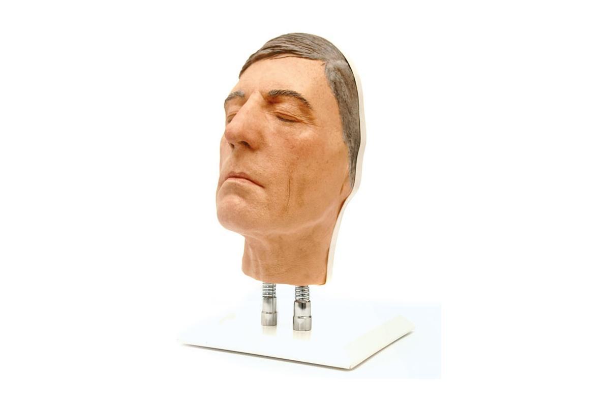 simulador para inyecciones faciales de edad avanzada